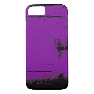 Funda Para iPhone 8/7 Textura negra del Grunge del borde