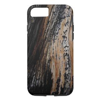 Funda Para iPhone 8/7 Textura quemada de la corteza de árbol
