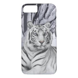 Funda Para iPhone 8/7 Tigre blanco