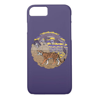 Funda Para iPhone 8/7 Tigre y dragón