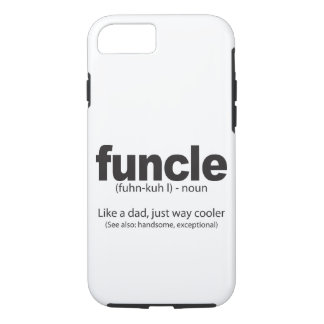 Funda Para iPhone 8/7 Tío divertido Quote Iphone Case de la definición