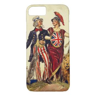Funda Para iPhone 8/7 Tío Sam y Britannia