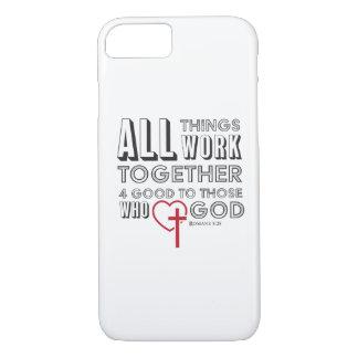 Funda Para iPhone 8/7 Todas las cosas trabajan juntas 4 buenos
