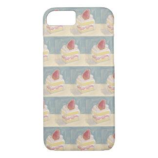 Funda Para iPhone 8/7 Torta de la fresa