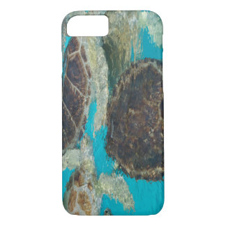 Funda Para iPhone 8/7 Tortugas abstractas