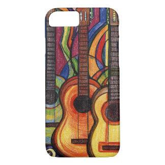 Funda Para iPhone 8/7 Tres guitarras