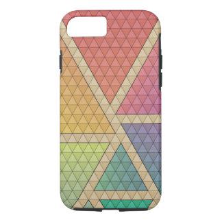 Funda Para iPhone 8/7 Triángulos brillantes