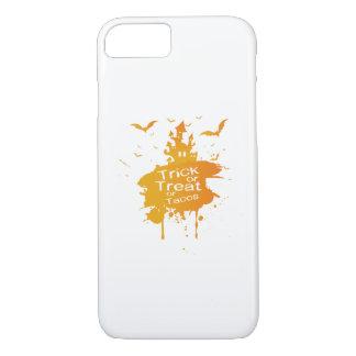 Funda Para iPhone 8/7 Truco o invitación o Tacos Halloween divertido