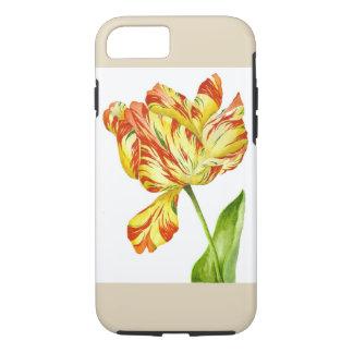 Funda Para iPhone 8/7 Tulipán ardiente en un caso del iPhone