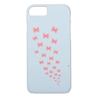 Funda Para iPhone 8/7 Un caso de Iphone 7 del azul con los butteflies de