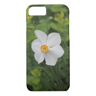 Funda Para iPhone 8/7 Una cubierta de la flor blanca para el caso del