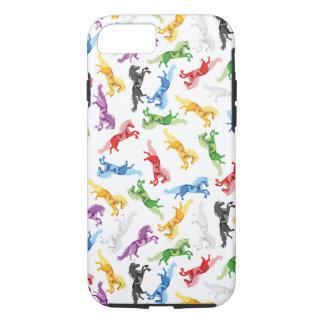 Funda Para iPhone 8/7 Unicornio coloreado del modelo