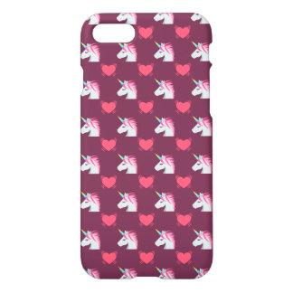 Funda Para iPhone 8/7 Unicornio de Emoji y modelo lindos de los
