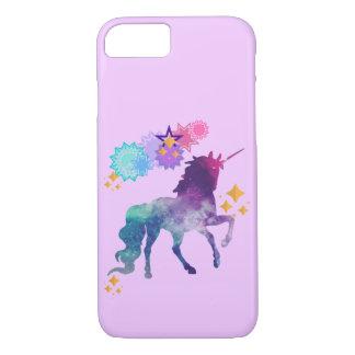 Funda Para iPhone 8/7 Unicornio estupendo de la galaxia de la estrella