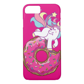Funda Para iPhone 8/7 unicornio y buñuelo
