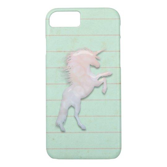 Funda Para iPhone 8/7 Unicornios obsesión