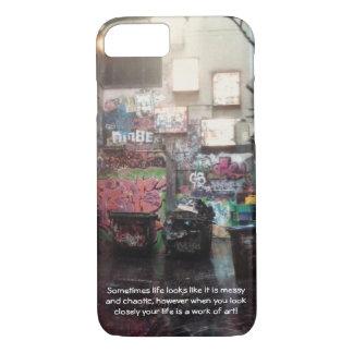 Funda Para iPhone 8/7 ¡Usted vida es una obra de arte!