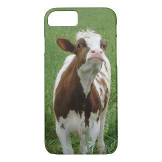 Funda Para iPhone 8/7 Vaca de leche de la lechería en la granja