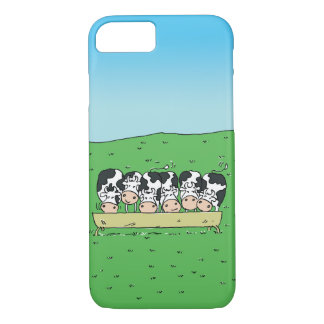Funda Para iPhone 8/7 Vacas y Catle en el campo de un granjero