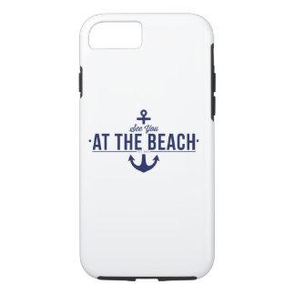 Funda Para iPhone 8/7 Véale en el caso del iPhone 7 de la playa