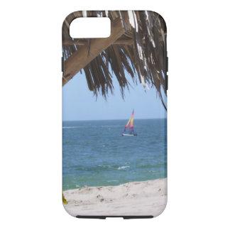 Funda Para iPhone 8/7 Velero colorido de la playa tropical