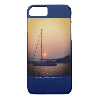 Funda Para iPhone 8/7 Velero en el caso de la puesta del sol