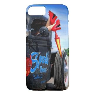Funda Para iPhone 8/7 Velocidades que remolcan el Rockabilly Betty del