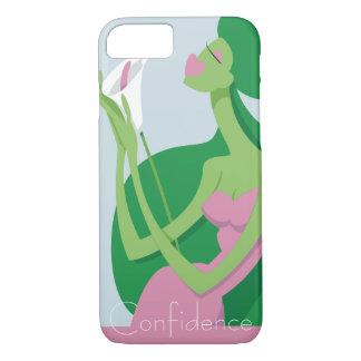 Funda Para iPhone 8/7 Verde con la caja del teléfono de la envidia