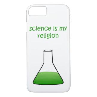 Funda Para iPhone 8/7 verde de la ciencia