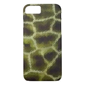 Funda Para iPhone 8/7 Verde verde oliva del estampado de animales