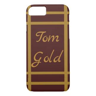 Funda Para iPhone 8/7 Vino de oro personalizado