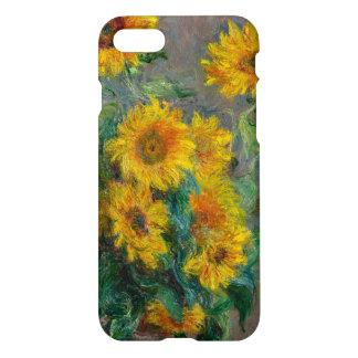 Funda Para iPhone 8/7 Vintage de los girasoles de Claude Monet floral