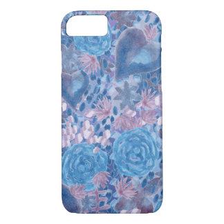 Funda Para iPhone 8/7 Watercolor in blues