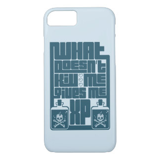 Funda Para iPhone 8/7 What doesn't kill me gives me XP! Case
