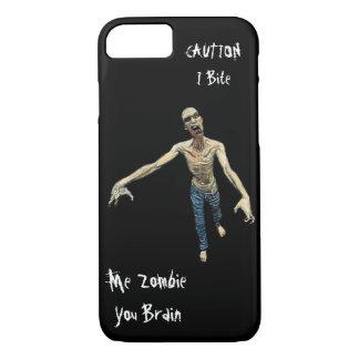 Funda Para iPhone 8/7 Yo zombi - usted cerebro para los hombres y los