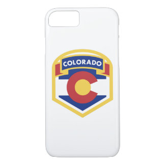 Funda Para iPhone 8/7 Zazzle de la BANDERA del ESTADO de COLORADO