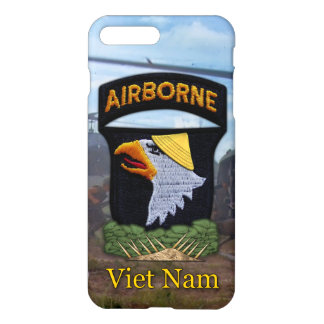 Funda Para iPhone 8 Plus/7 Plus 101os veteranos de griterío aerotransportados de