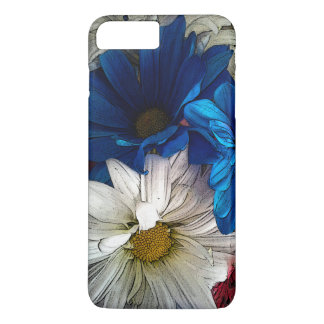 Funda Para iPhone 8 Plus/7 Plus 4to del caso de IPhone 7 de los amantes de la flor
