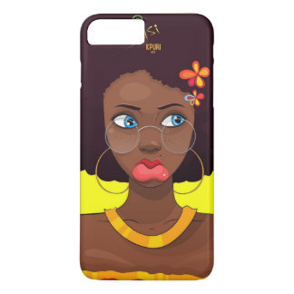 Funda Para iPhone 8 Plus/7 Plus Afro Sisi