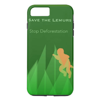 Funda Para iPhone 8 Plus/7 Plus Ahorre los Lemurs