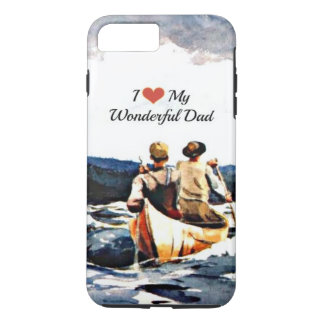 Funda Para iPhone 8 Plus/7 Plus Amo a mi papá maravilloso