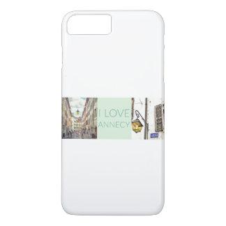 """Funda Para iPhone 8 Plus/7 Plus """"Amo el iPhone 7 de la casamata de Annecy""""+/8+"""
