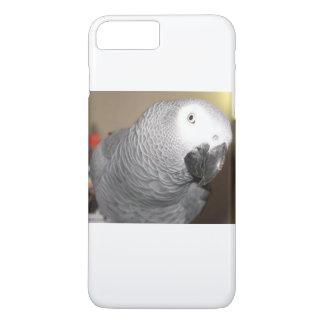 Funda Para iPhone 8 Plus/7 Plus Amo mi loro del gris africano