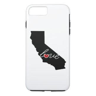 Funda Para iPhone 8 Plus/7 Plus ¡Amor de California! Regalos para los amantes de