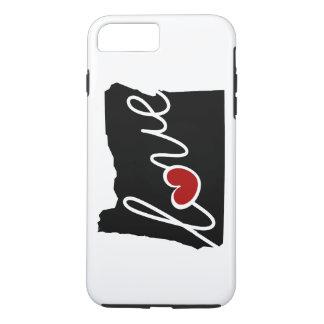Funda Para iPhone 8 Plus/7 Plus ¡Amor de Oregon! Regalos para O amantes