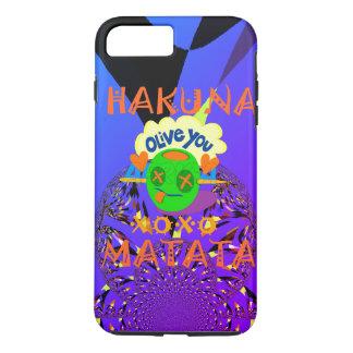 Funda Para iPhone 8 Plus/7 Plus Amor divertido agradable de Hakuna Matata y