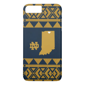 Funda Para iPhone 8 Plus/7 Plus Amor tribal del estado de Notre Dame el |