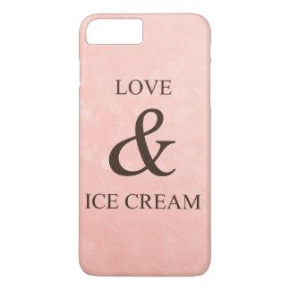 Funda Para iPhone 8 Plus/7 Plus Amor y helado
