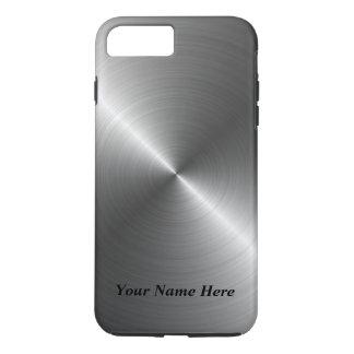 Funda Para iPhone 8 Plus/7 Plus Añada su caso metalizado de acero conocido del