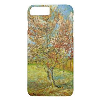 Funda Para iPhone 8 Plus/7 Plus Árbol de melocotón rosado de Van Gogh en el flor,